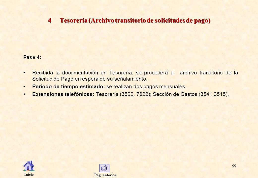 4 Tesorería (Archivo transitorio de solicitudes de pago)