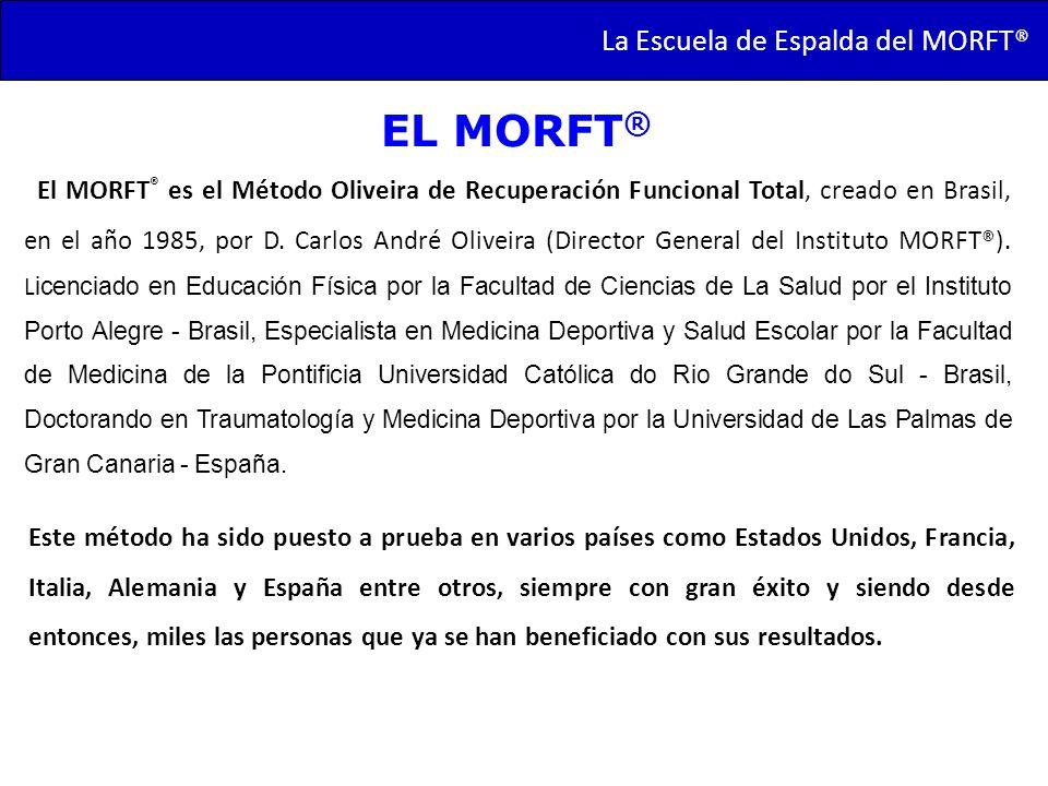 EL MORFT® La Escuela de Espalda del MORFT®