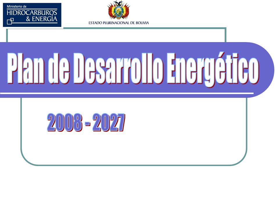 Plan de Desarrollo Energético