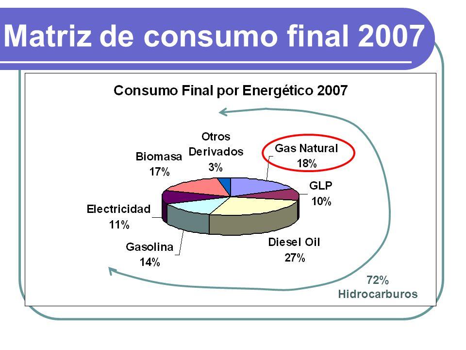 Matriz de consumo final 2007