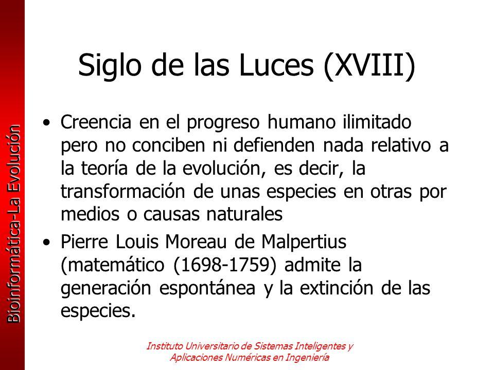 Siglo de las Luces (XVIII)