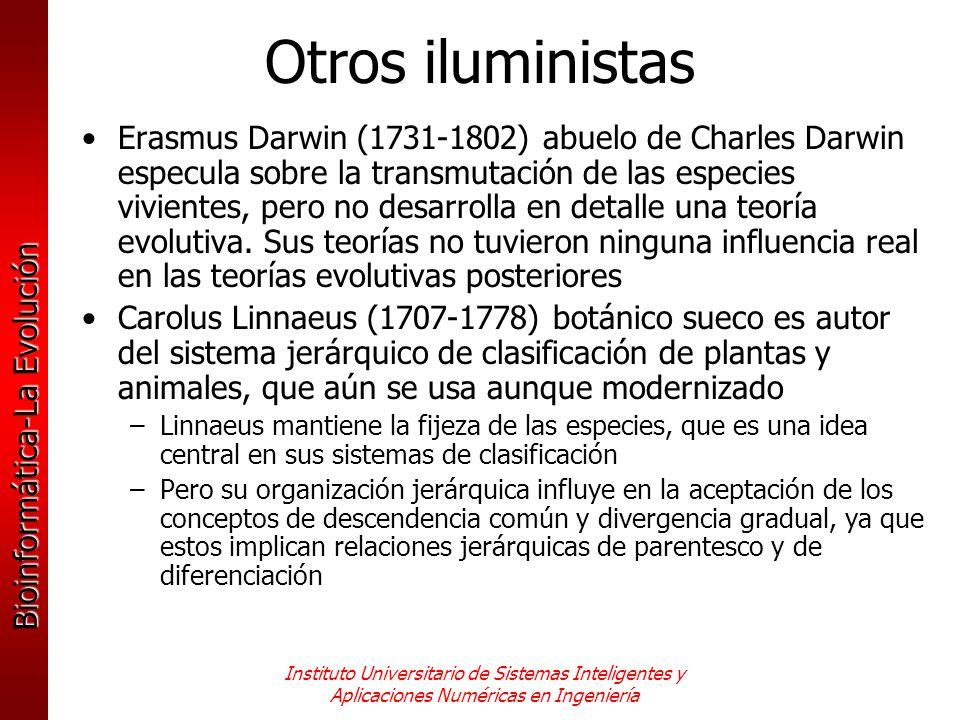 Otros iluministas