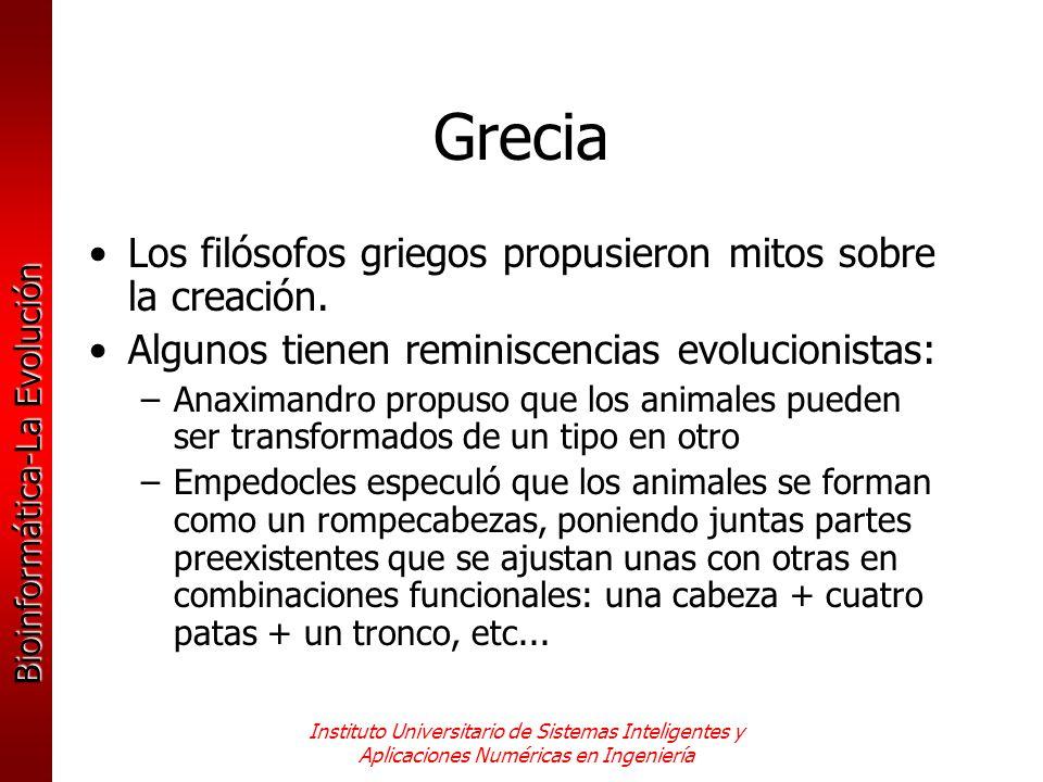 Grecia Los filósofos griegos propusieron mitos sobre la creación.
