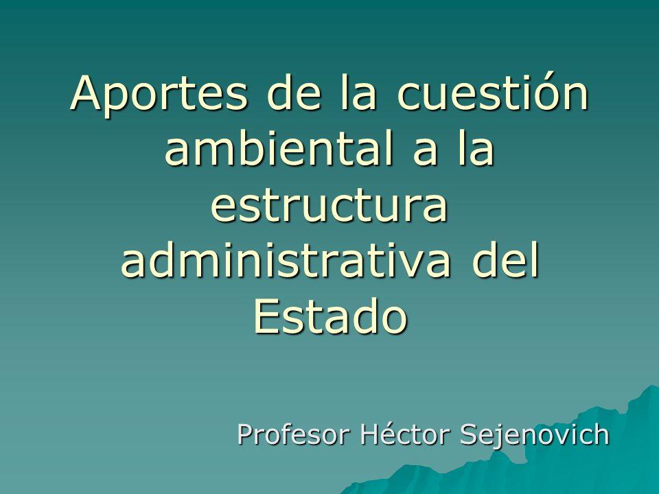 Profesor Héctor Sejenovich