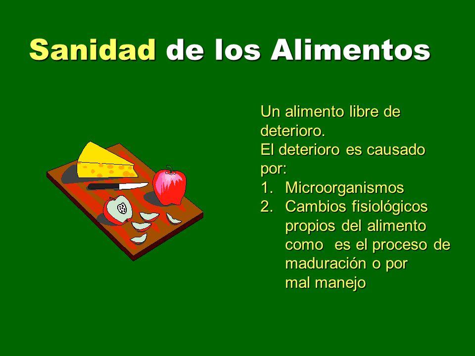 Sanidad de los Alimentos