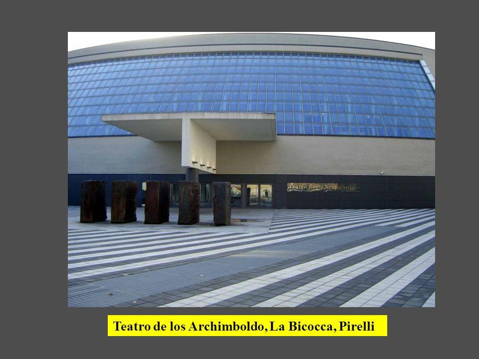 Teatro de los Archimboldo, La Bicocca, Pirelli