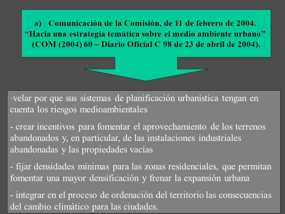 Comunicación de la Comisión, de 11 de febrero de 2004.