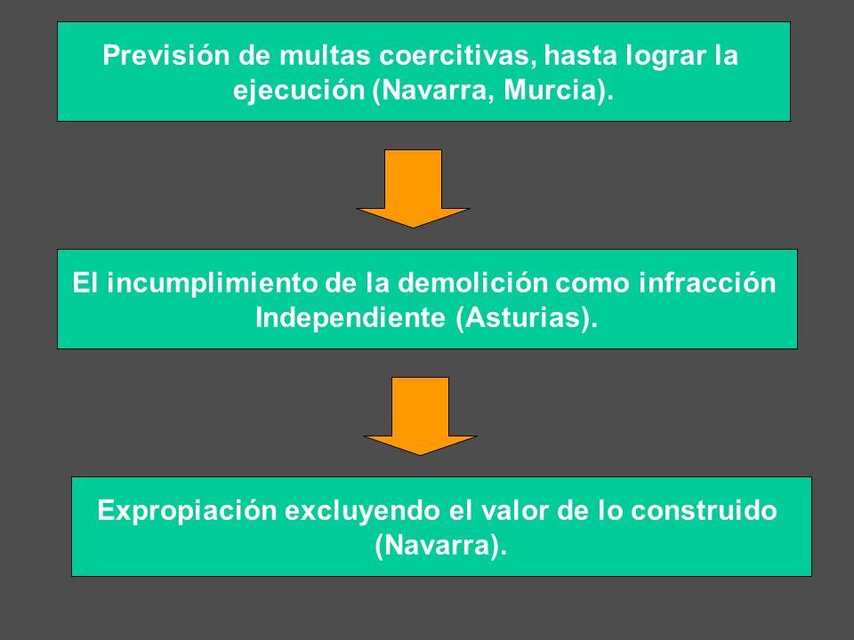 Previsión de multas coercitivas, hasta lograr la