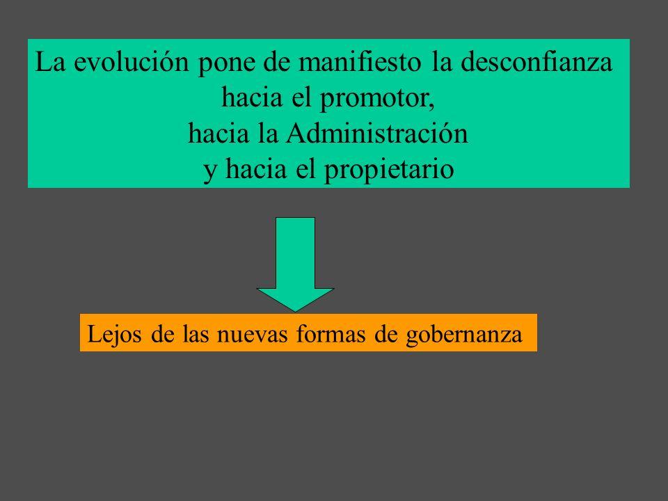 La evolución pone de manifiesto la desconfianza hacia el promotor,