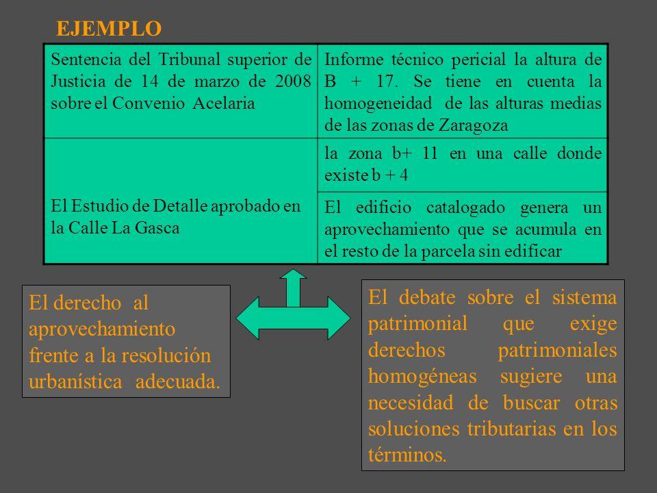 EJEMPLO Sentencia del Tribunal superior de Justicia de 14 de marzo de 2008 sobre el Convenio Acelaria.