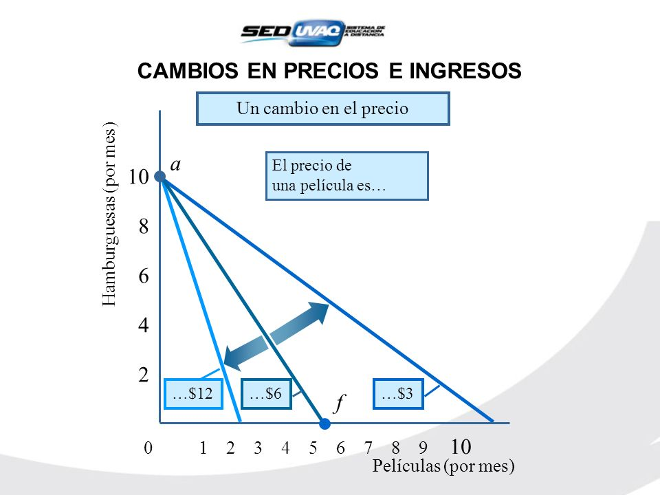 CAMBIOS EN PRECIOS E INGRESOS