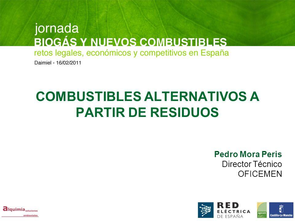 COMBUSTIBLES ALTERNATIVOS A PARTIR DE RESIDUOS