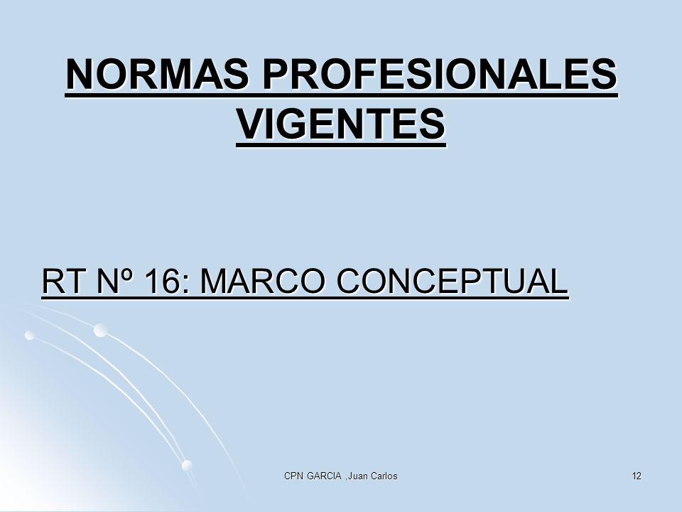 NORMAS PROFESIONALES VIGENTES