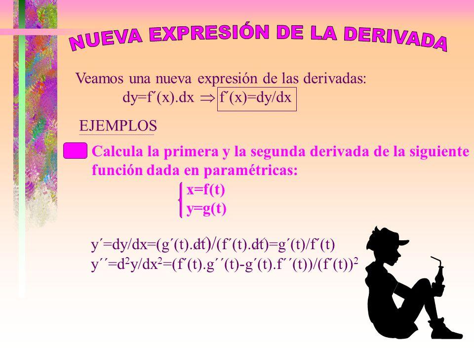 NUEVA EXPRESIÓN DE LA DERIVADA