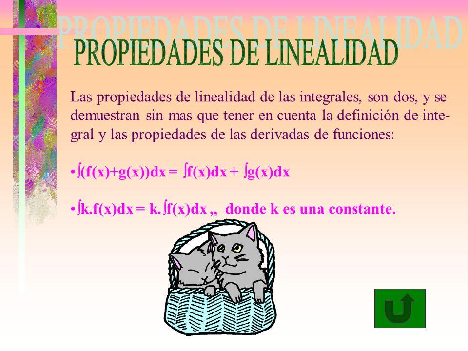 PROPIEDADES DE LINEALIDAD