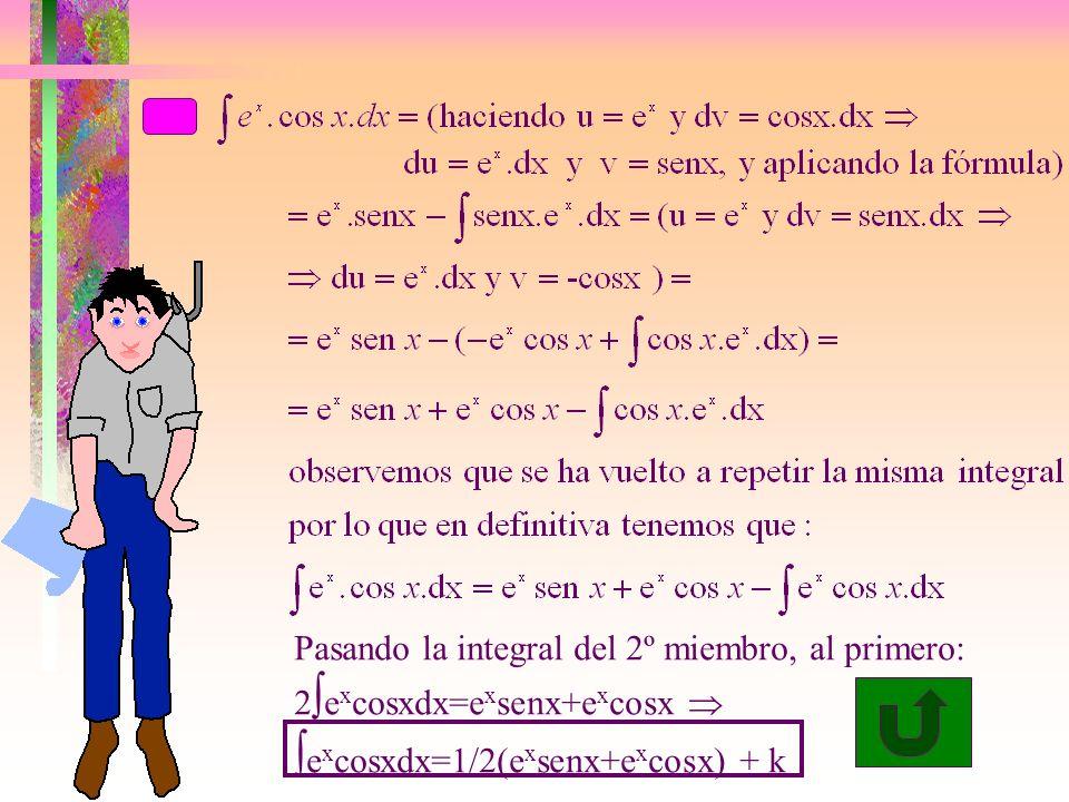 excosxdx=1/2(exsenx+excosx) + k
