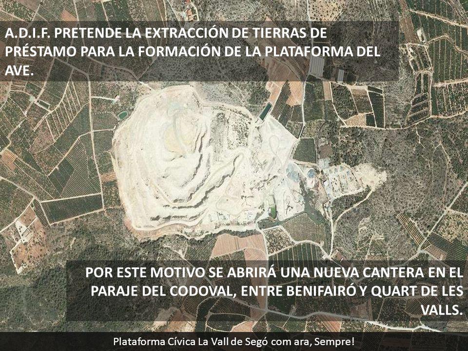 Plataforma Cívica La Vall de Segó com ara, Sempre!