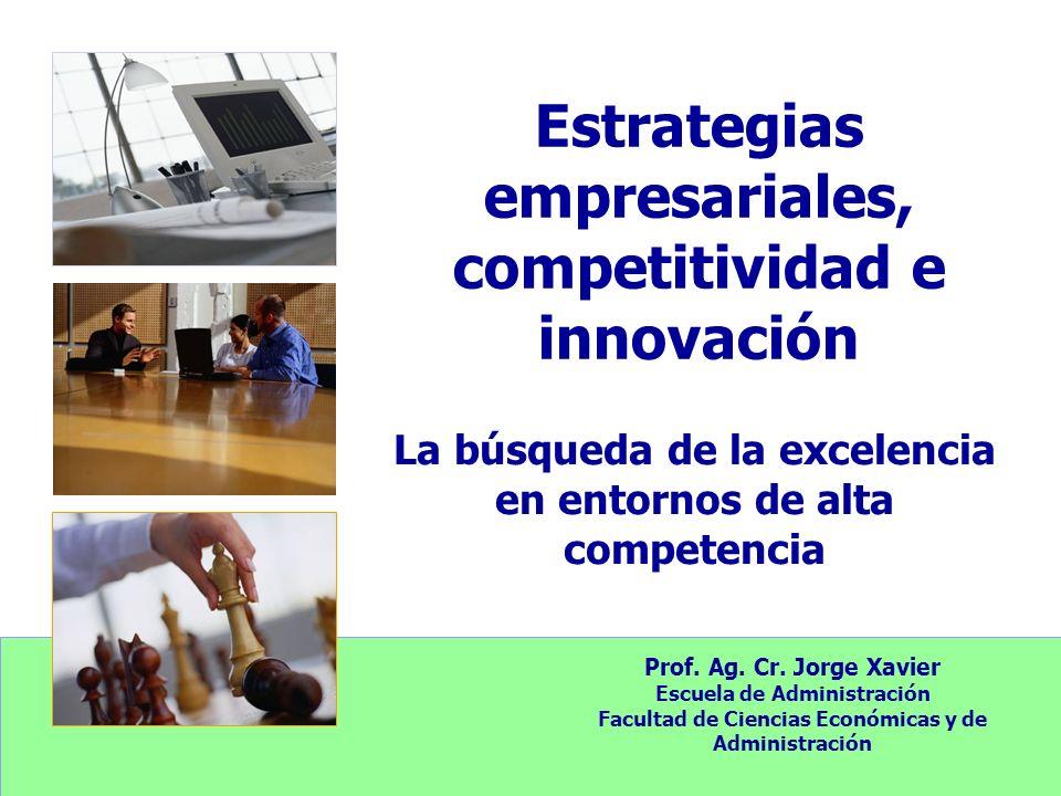Estrategias empresariales, competitividad e innovación