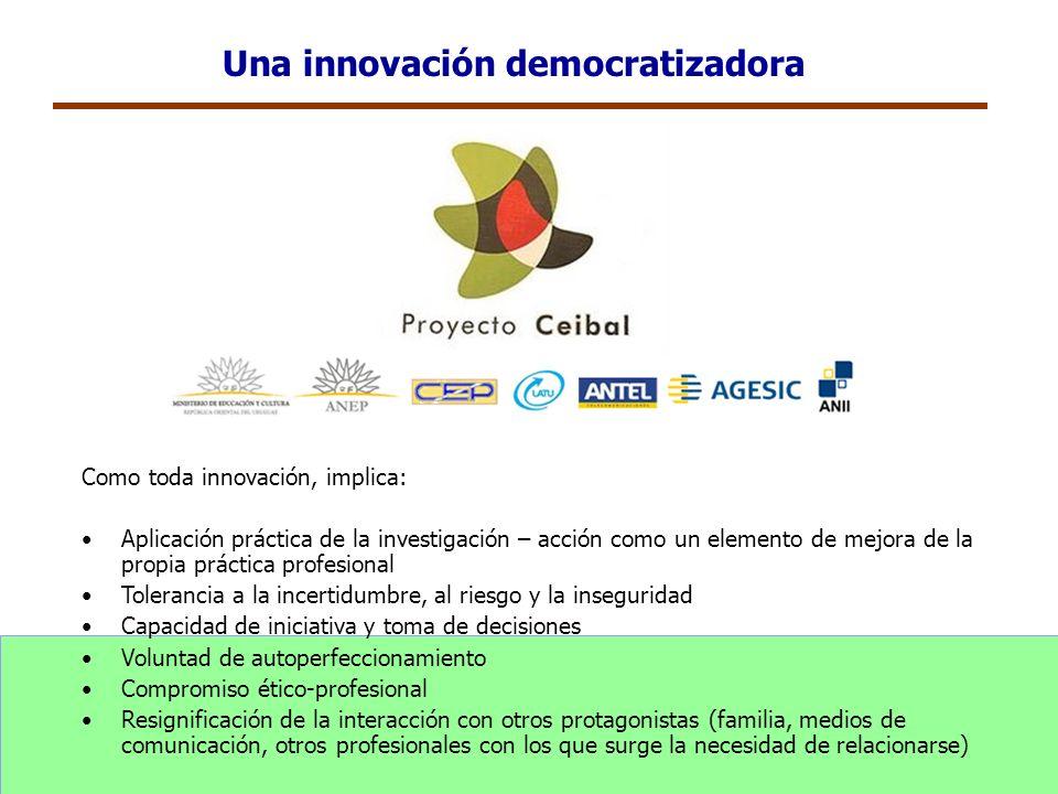 Una innovación democratizadora