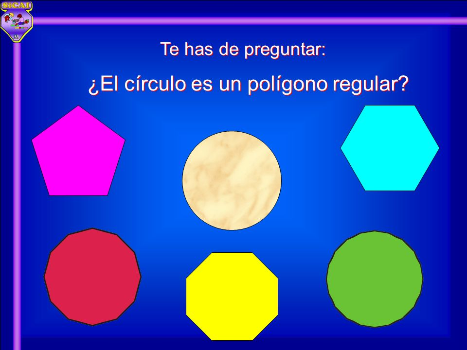 ¿El círculo es un polígono regular