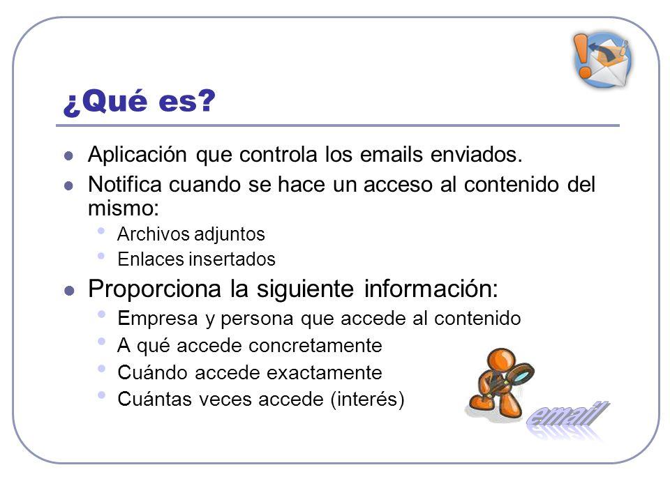 email ¿Qué es Proporciona la siguiente información: