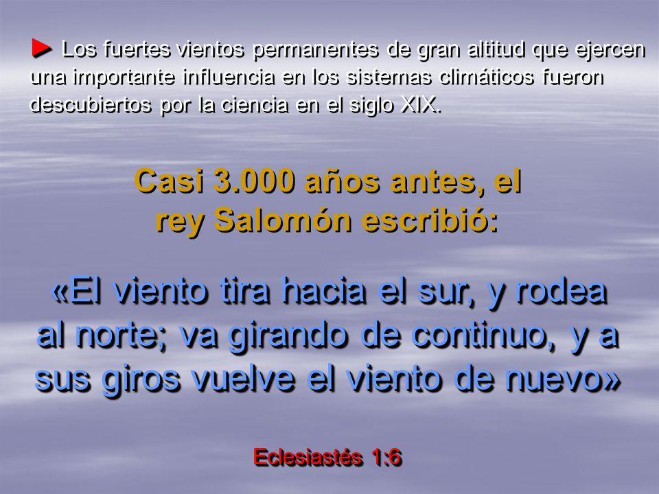 Casi 3.000 años antes, el rey Salomón escribió: