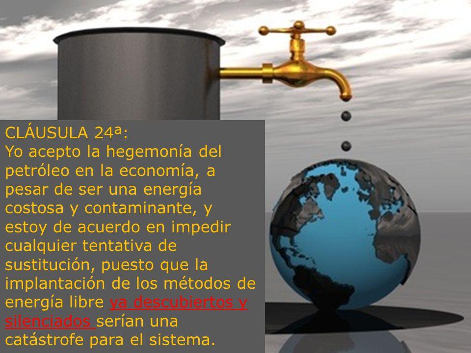 CLÁUSULA 24ª: