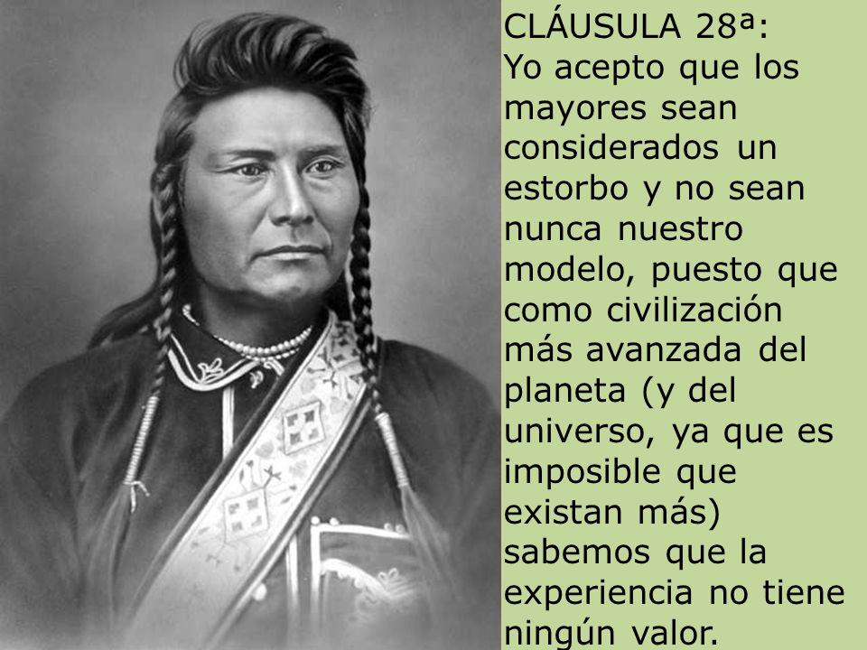 CLÁUSULA 28ª: