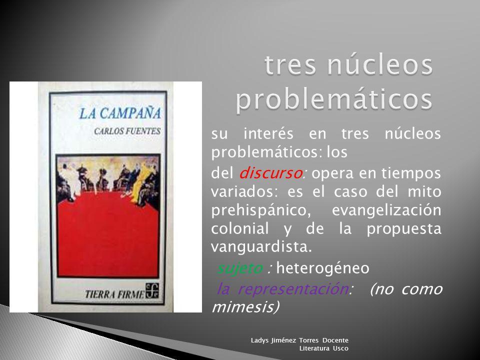 tres núcleos problemáticos