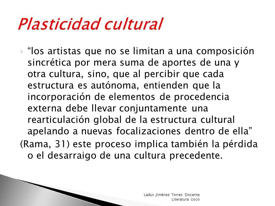 Plasticidad cultural