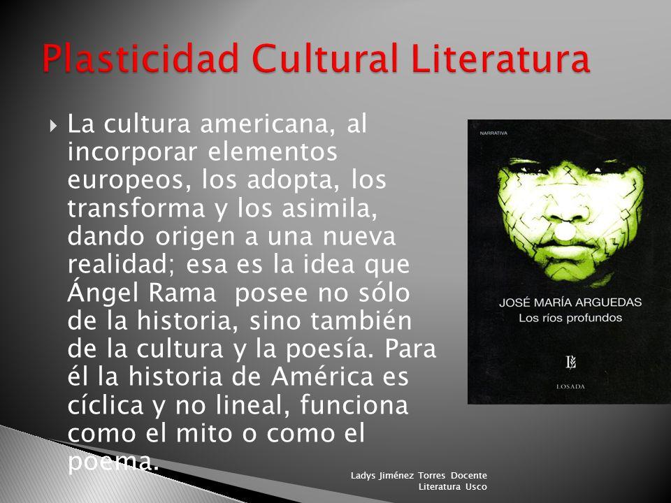 Plasticidad Cultural Literatura