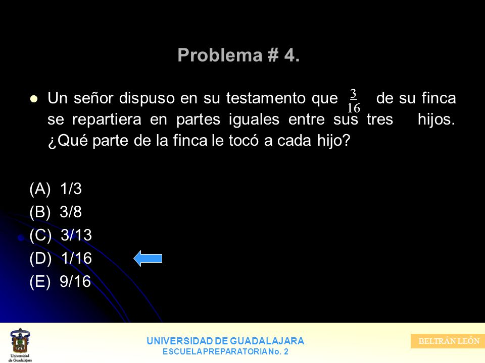 Problema # 4.