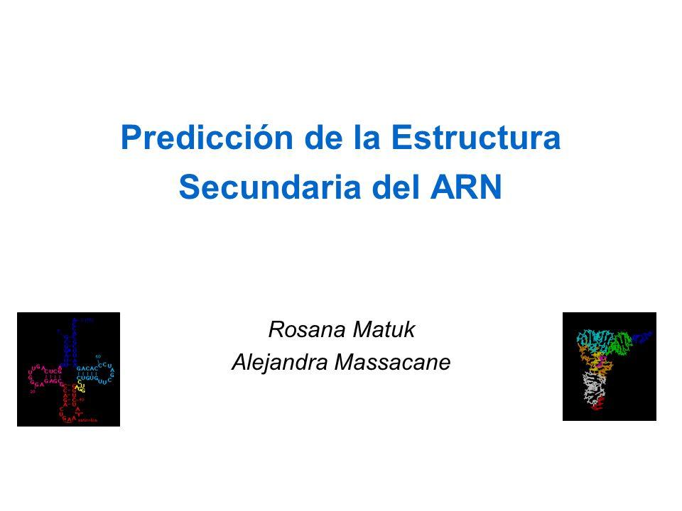 Predicción de la Estructura
