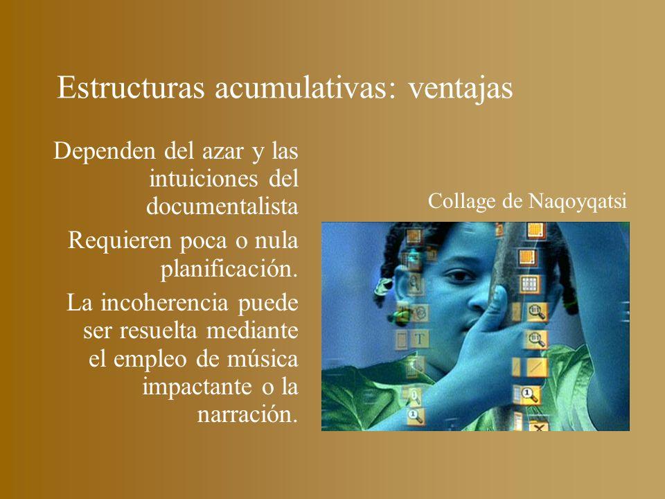 Estructuras acumulativas: ventajas