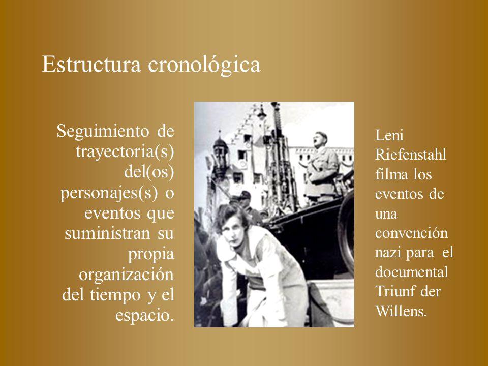 Estructura cronológica