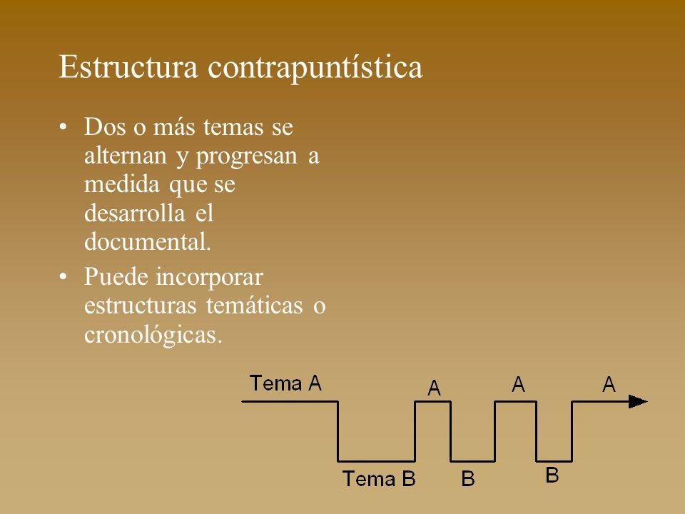 Estructura contrapuntística