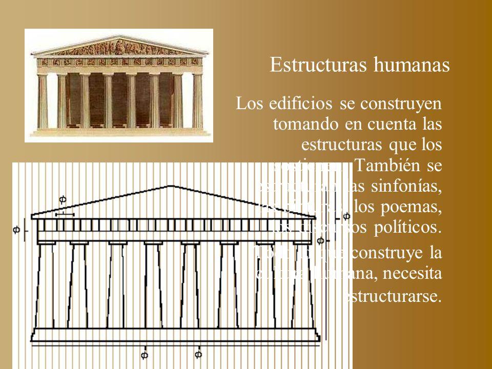 Estructuras humanas