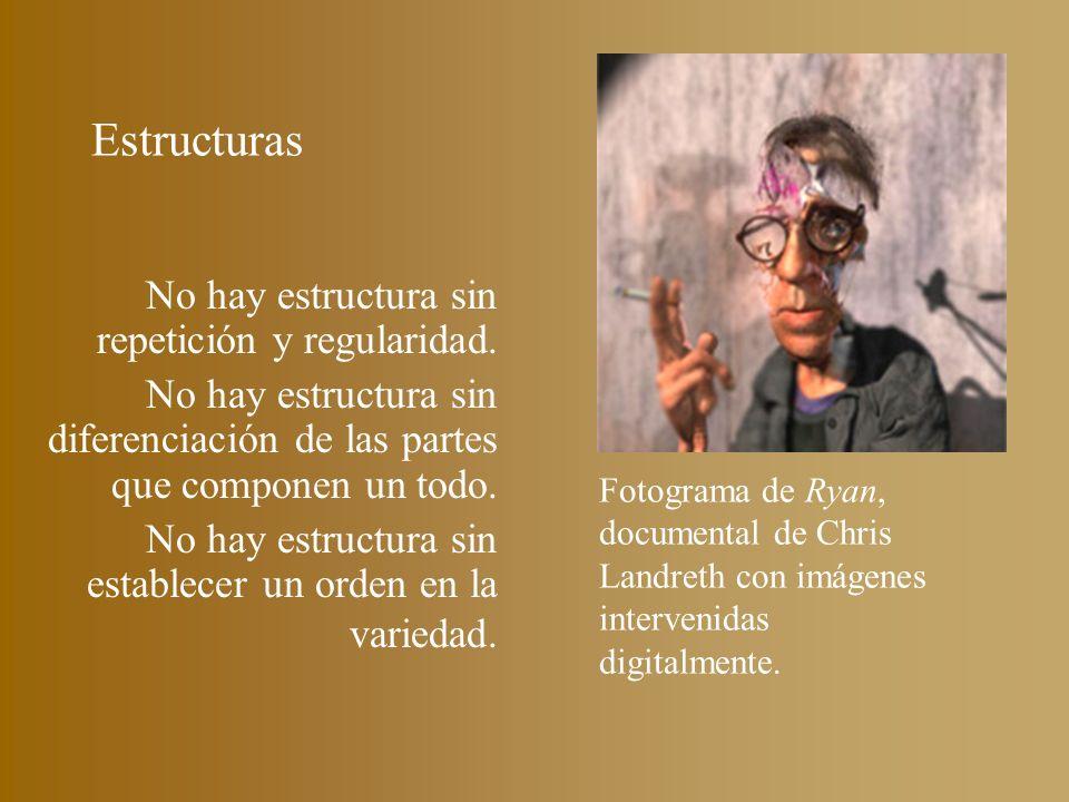 Estructuras No hay estructura sin repetición y regularidad.