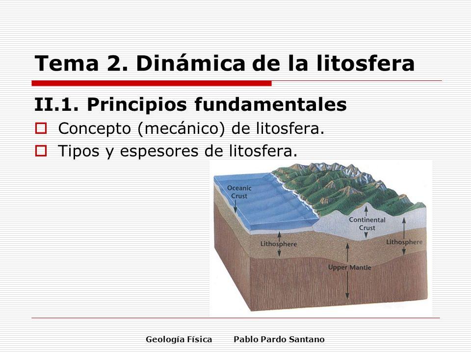 Tema 2. Dinámica de la litosfera