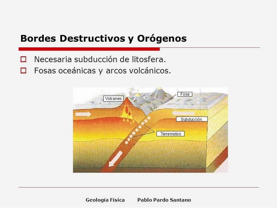 Bordes Destructivos y Orógenos