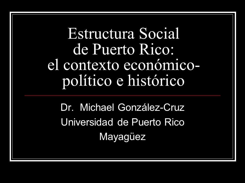 Dr. Michael González-Cruz Universidad de Puerto Rico Mayagüez