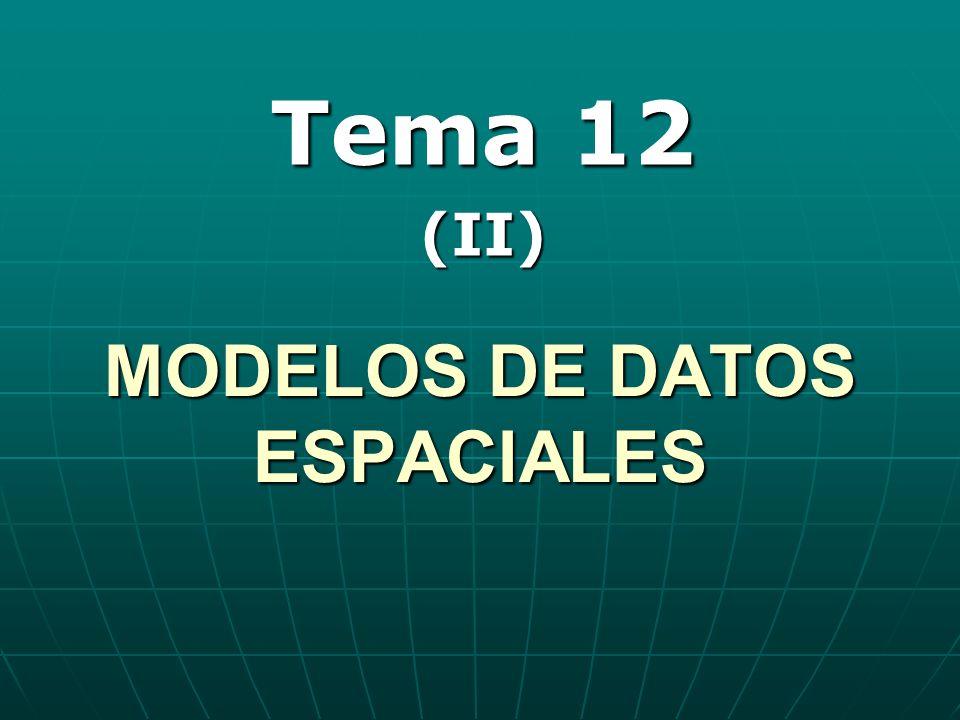 MODELOS DE DATOS ESPACIALES