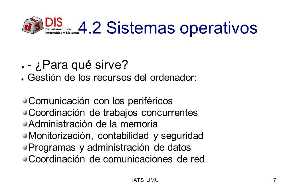 4.2 Sistemas operativos - ¿Para qué sirve