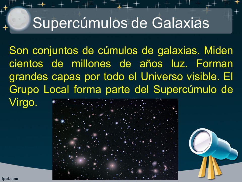 Supercúmulos de Galaxias