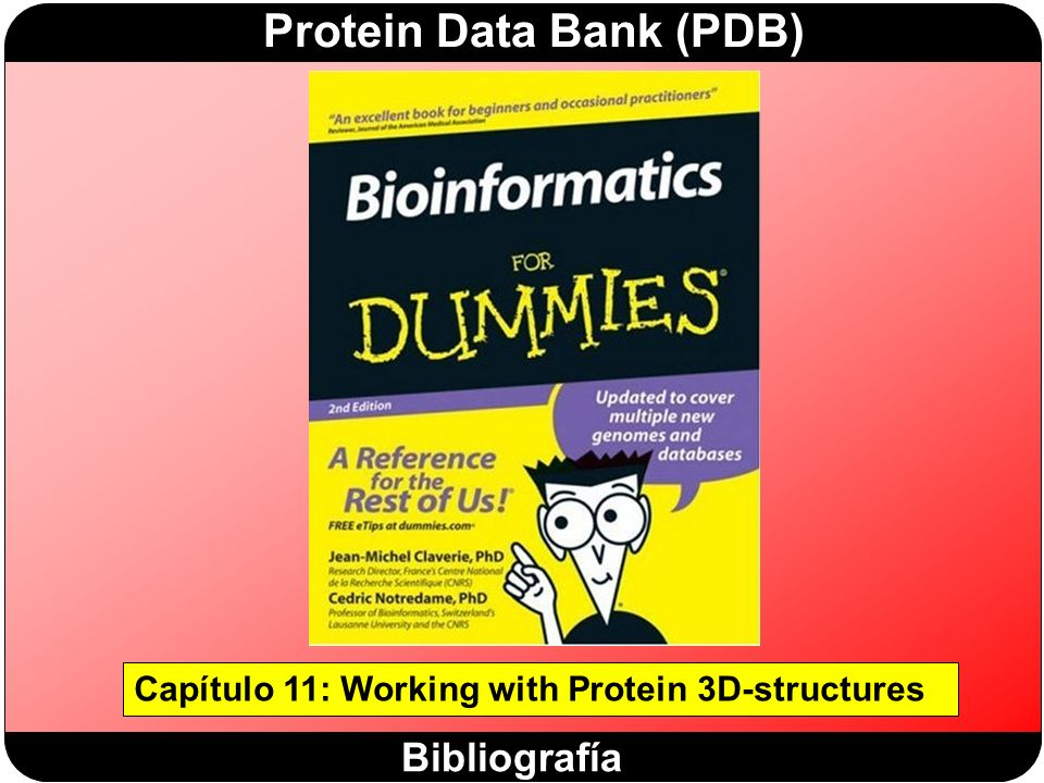 Capítulo 11: Working with Protein 3D-structures