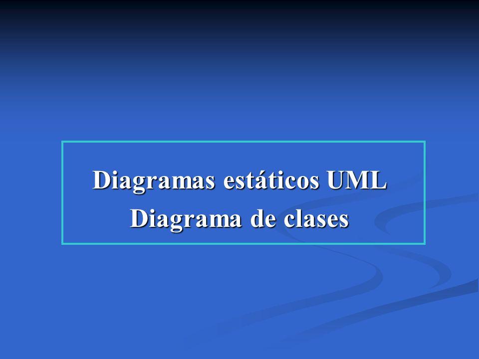 Diagramas estáticos UML