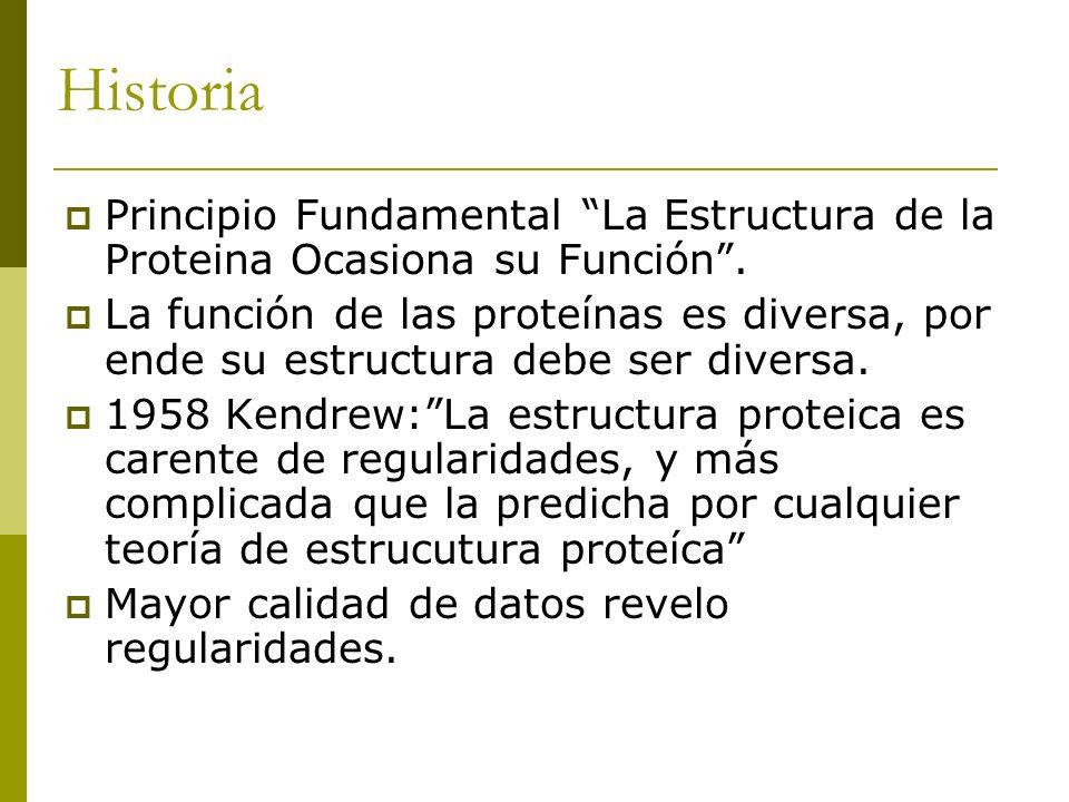 Historia Principio Fundamental La Estructura de la Proteina Ocasiona su Función .