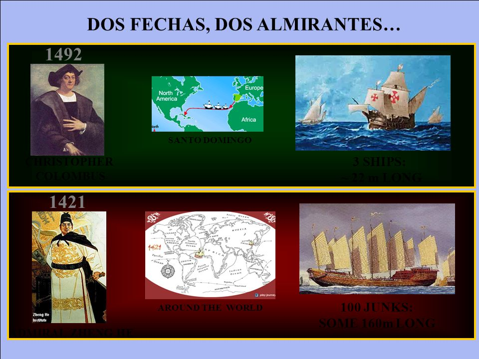 DOS FECHAS, DOS ALMIRANTES…