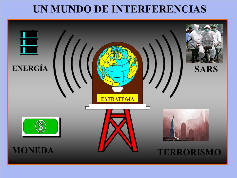 UN MUNDO DE INTERFERENCIAS