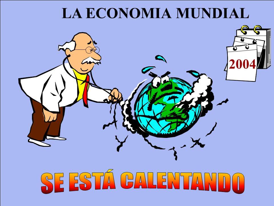 LA ECONOMIA MUNDIAL 2004 SE ESTÁ CALENTANDO
